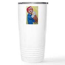We Can Do It Monkey Travel Mug