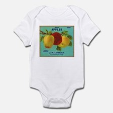 Vintage Fruit & Vegetable Lab Infant Bodysuit