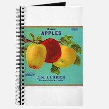 Vintage Fruit & Vegetable Lab Journal