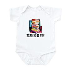 Reading is fun Infant Bodysuit