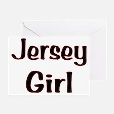 Jersey Girl Greeting Card