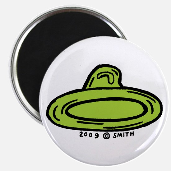 "Right Leaning Condom 2.25"" Magnet (10 pack)"
