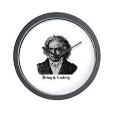 Cute Ludwig van beethoven Wall Clock