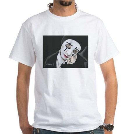THE MIME White T-Shirt