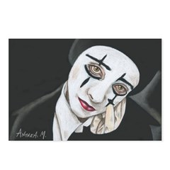 THE MIME Postcards (Package of 8)