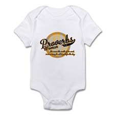 Proverbs Woman Infant Bodysuit