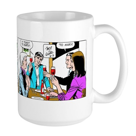 A Toast To Mary Large Mug