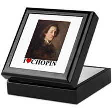 Cute Pianist Keepsake Box