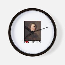 Unique Chopin Wall Clock