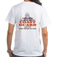 My Coast Guard Grandson Answered Shirt