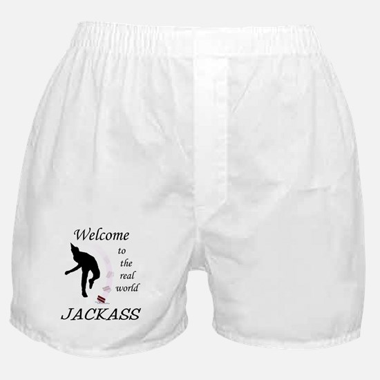 Welcome To The Real World Boxer Shorts