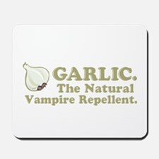 Garlic Vampire Repellent Mousepad