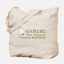 Garlic Vampire Repellent Tote Bag