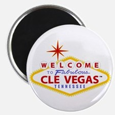 """CleVegas 2.25"""" Magnet (10 pack)"""