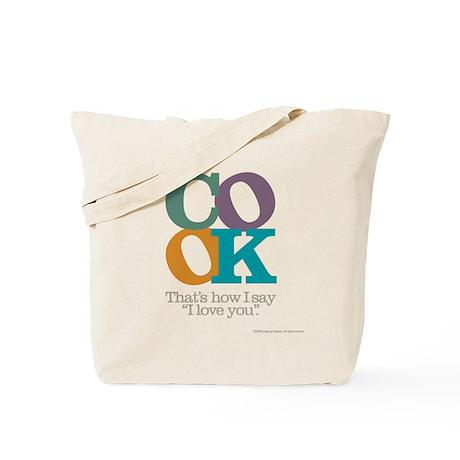 Cook/Love Tote Bag