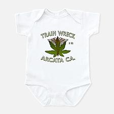 train wreck Infant Bodysuit