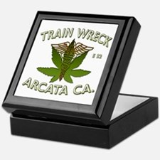 train wreck Keepsake Box