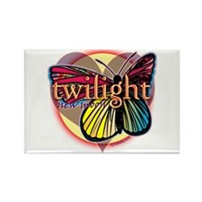 New Moon Butterfly Heart Rectangle Magnet