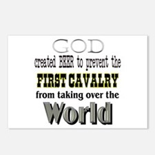 1st Calvary Division Beer Postcards (Package of 8)