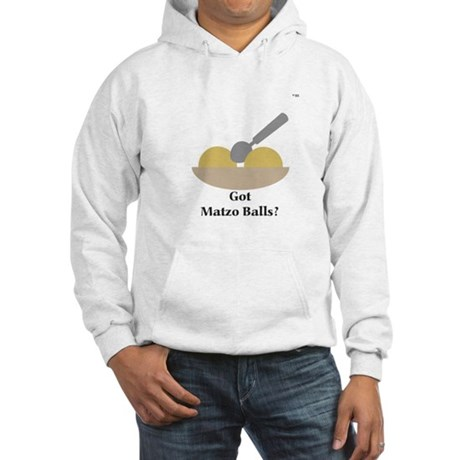 """Got Matzo Balls?"" Hooded Sweatshirt"