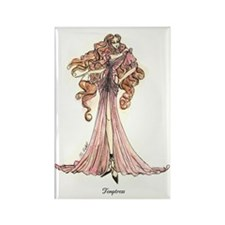 Cute Fashion illustration Rectangle Magnet