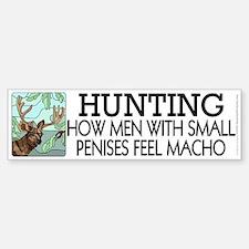 Hunting: How men... Bumper Bumper Sticker