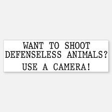 Want to shoot Bumper Bumper Sticker