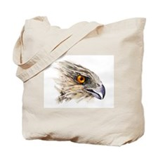 Cooper Hawk Face Tote Bag