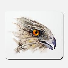Cooper Hawk Face Mousepad