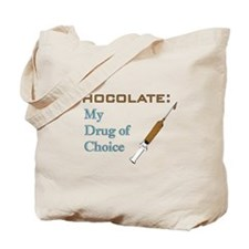 Chocolate Drug Tote Bag