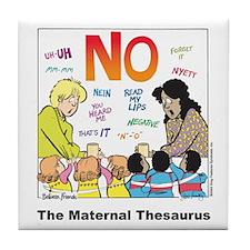 Maternal Thesaurus Tile Coaster