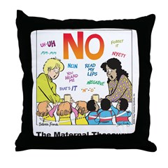 Maternal Thesaurus Throw Pillow