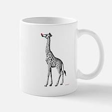 Red Nosed Giraffe Mug