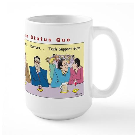Millennium Status Quo Large Mug