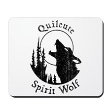 Quileute Spirit Wolf Mousepad