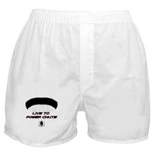 """Live to Power Chute"" Boxer Shorts"