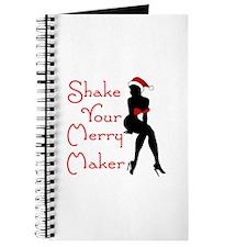 Shake Your Merry Maker Journal