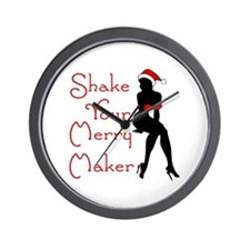 Shake Your Merry Maker Wall Clock