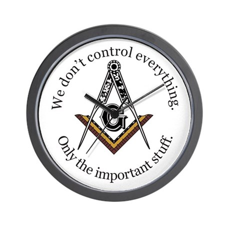 We don't control everything Wall Clock