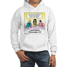 Lunchroom Philosophy Hooded Sweatshirt
