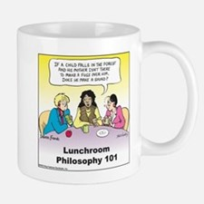 Lunchroom Philosophy Mug