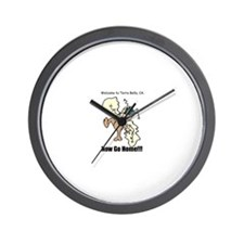 Cute Bella Wall Clock