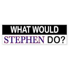 What Would Stephen Do Bumper Bumper Sticker