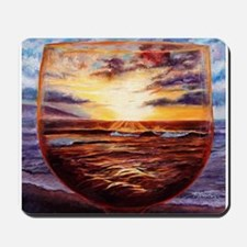 """Visions in Merlot"" : Mousepad"