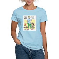 Teddy on the Inside Women's Light T-Shirt