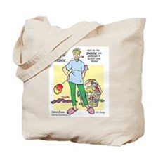 Teddy on the Inside Tote Bag