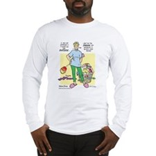 Teddy on the Inside Long Sleeve T-Shirt