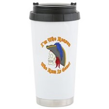 Unique Captain jack Travel Mug