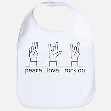 Rock On Bib