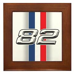 Cars 1982 Framed Tile